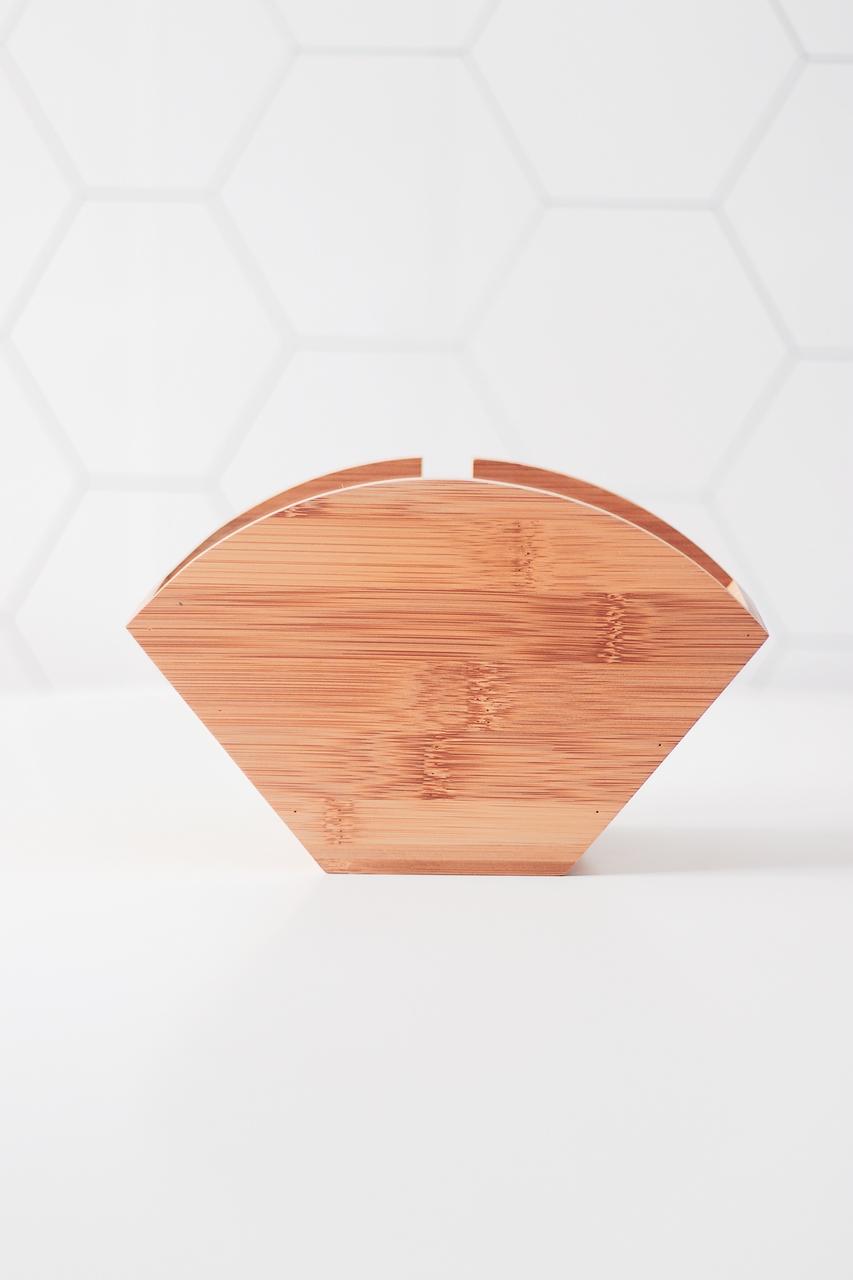 Porta Filtro Eco Bambu  - CASACOBRE