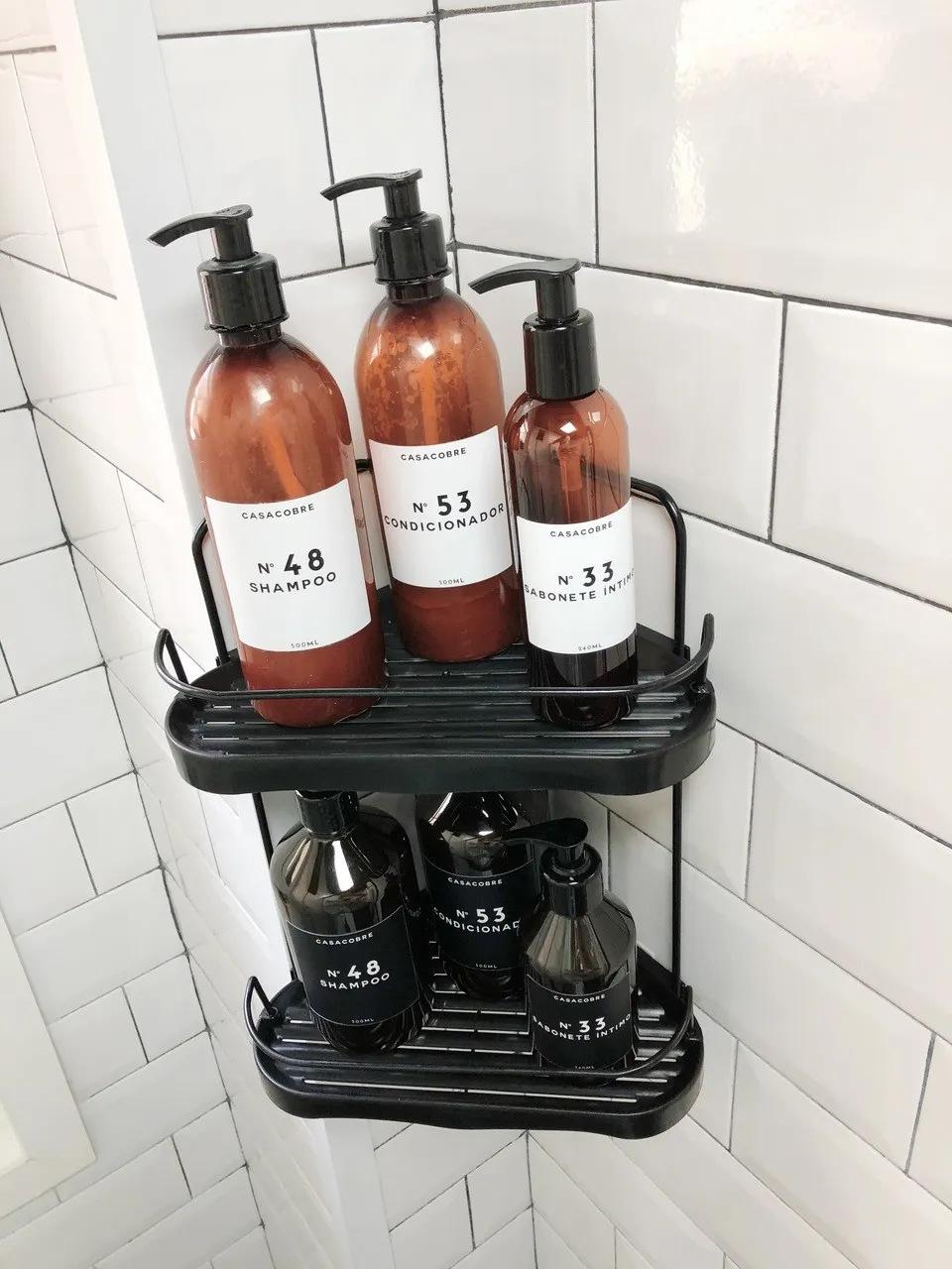 Porta Shampoo Duplo de Canto  - CASACOBRE