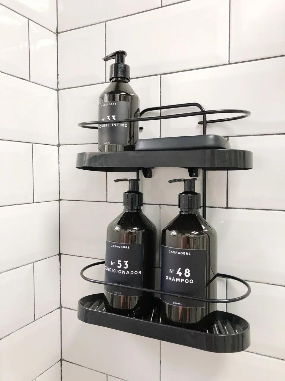 Porta Shampoo Duplo Wave  - CASACOBRE
