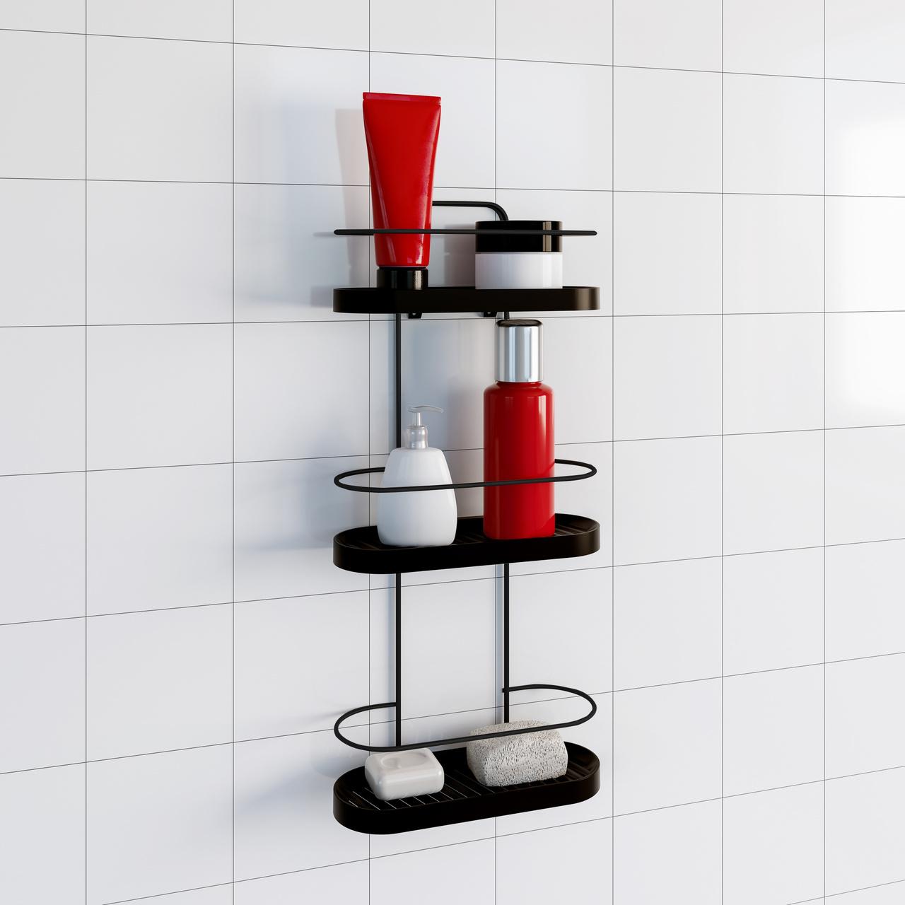 Porta Shampoo Triplo Wave  - CASACOBRE