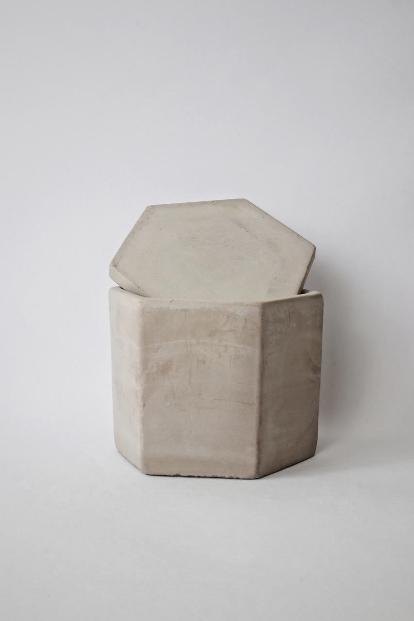 Pote Decorativo em Cimento  - CASACOBRE