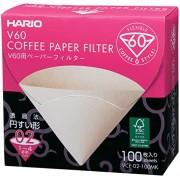 Filtro Natural Para Hario V60 02 - 100 Un