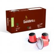 Kit 80 Cápsulas de café Guanabara gourmet compatível Nespresso