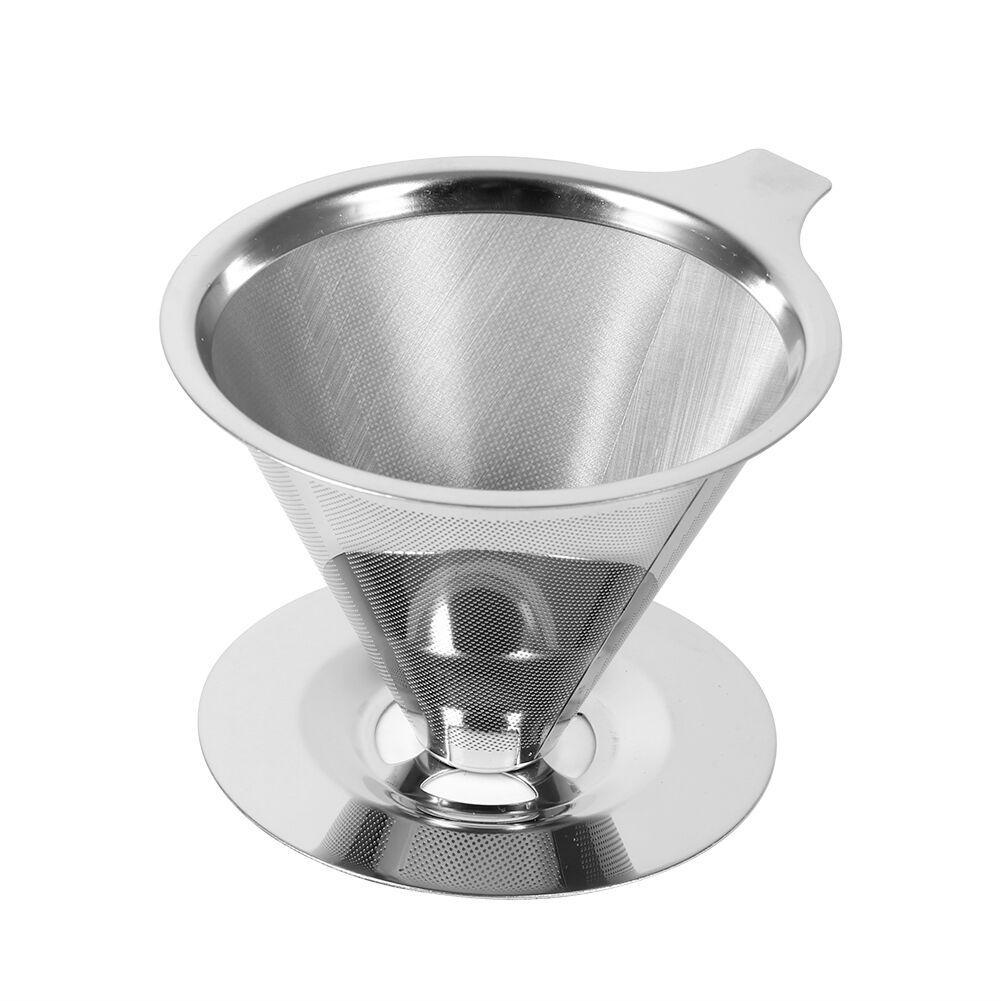 Coador Café Inox Sem Papel Ecológico E Reutilizável