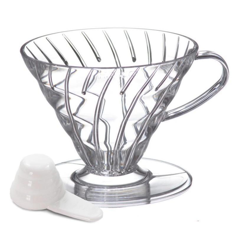 Suporte Coador De Café Hario V60 - 02 Acrílico Transparente