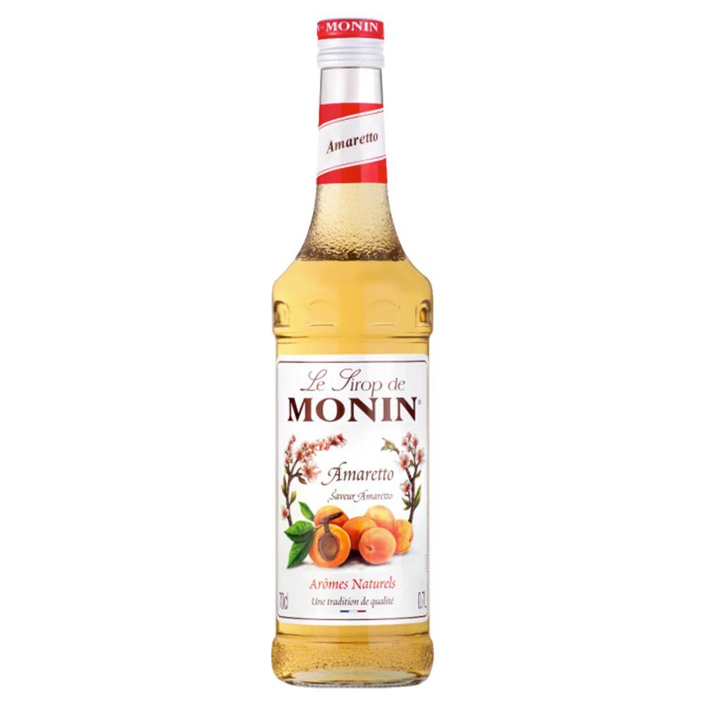 Xarope Monin Amaretto para drinks 700ml
