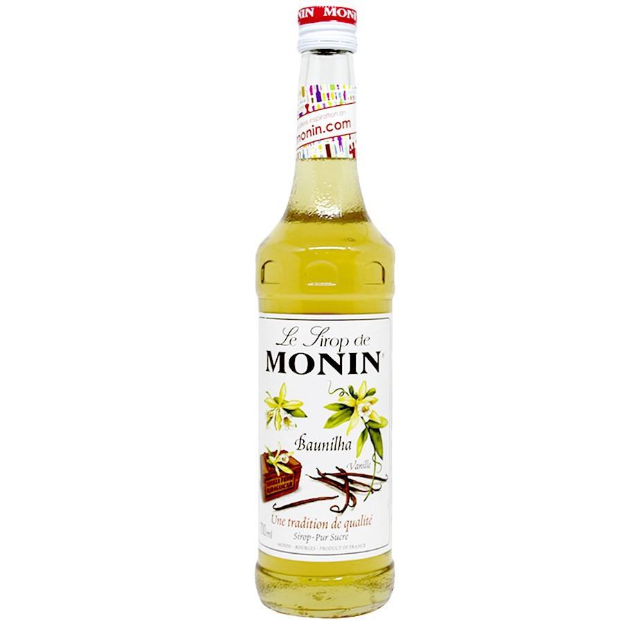 Xarope Monin Baunilha (Vanilla) para drinks 700ml