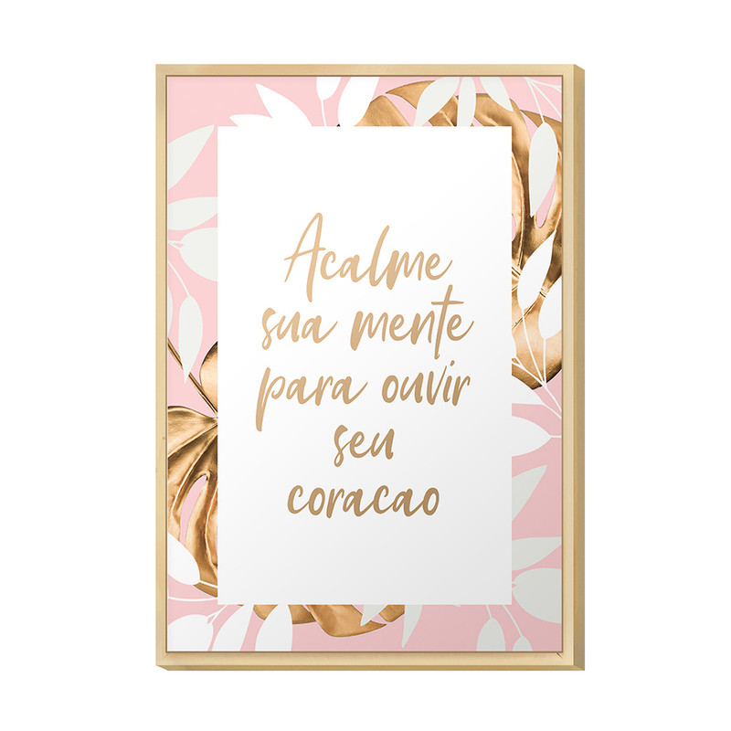 Quadro Decorativo 20x30 Frases Inspiração Sala Quarto