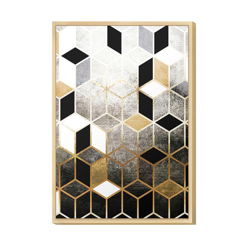 Quadro Decorativo 20x30 Geométrico Sala Quarto Escritório