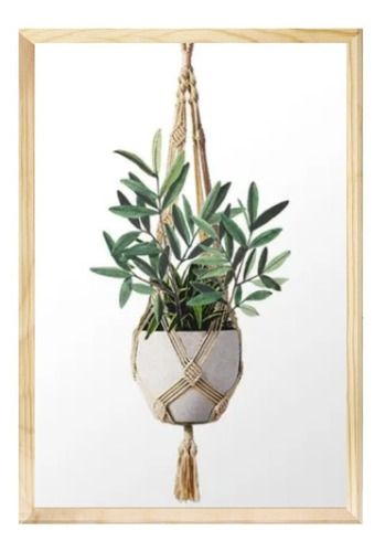Quadro Decorativo 40x60 Planta Folhagem Moderno Sala Quarto