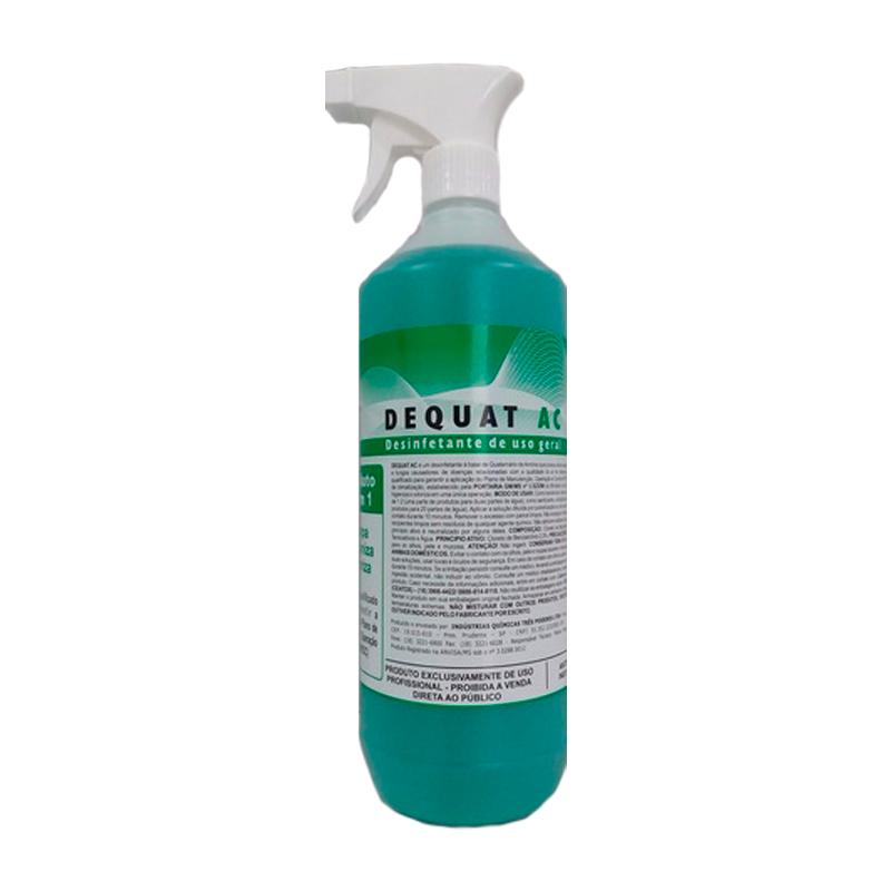 DEQUAT AC 3 Poderes 1L - Desinfetante para Limpeza de Ar Condicionado
