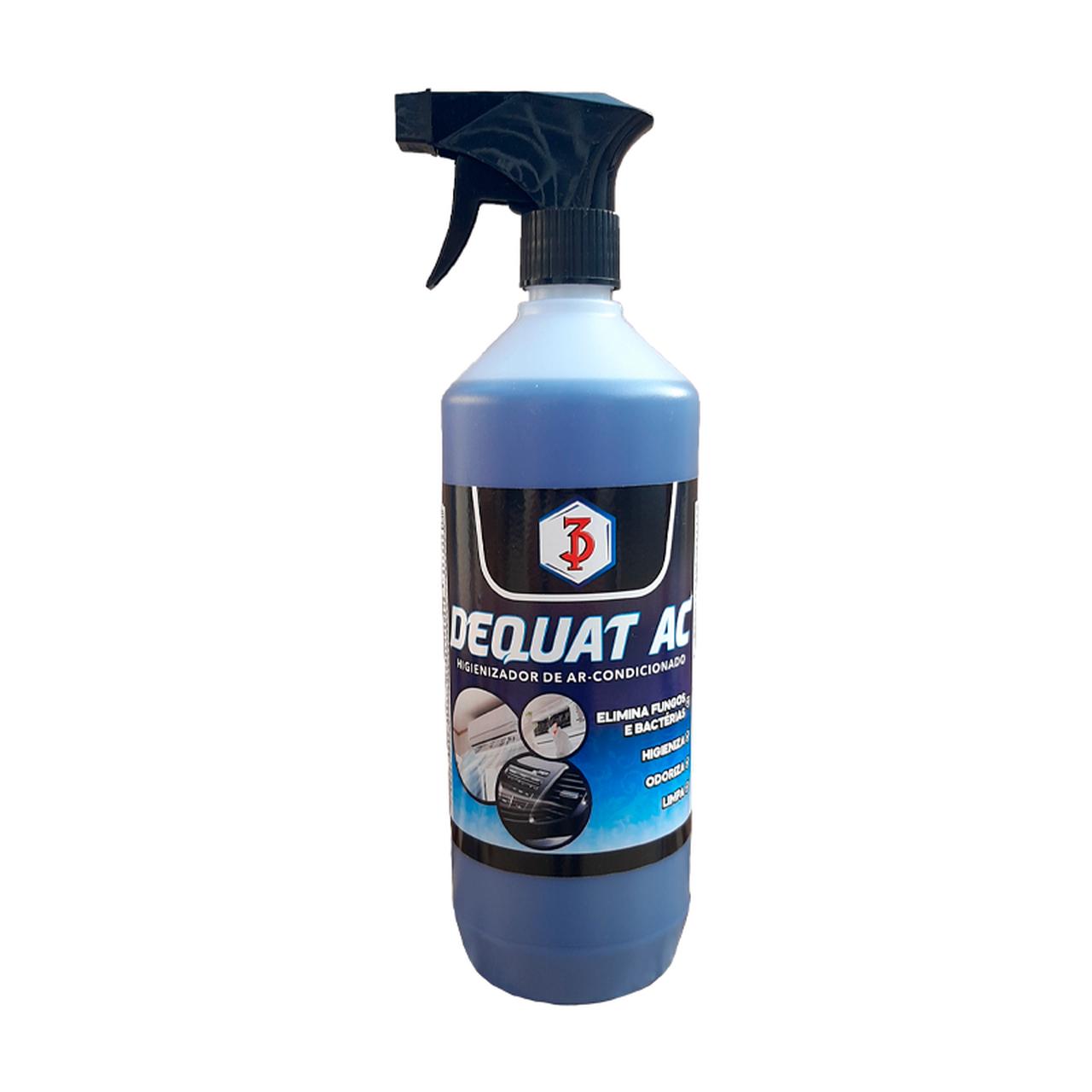 DEQUAT AC 3 Poderes 1L - Higienizador De Ar Condicionado E Desinfetante (Pronto Uso)