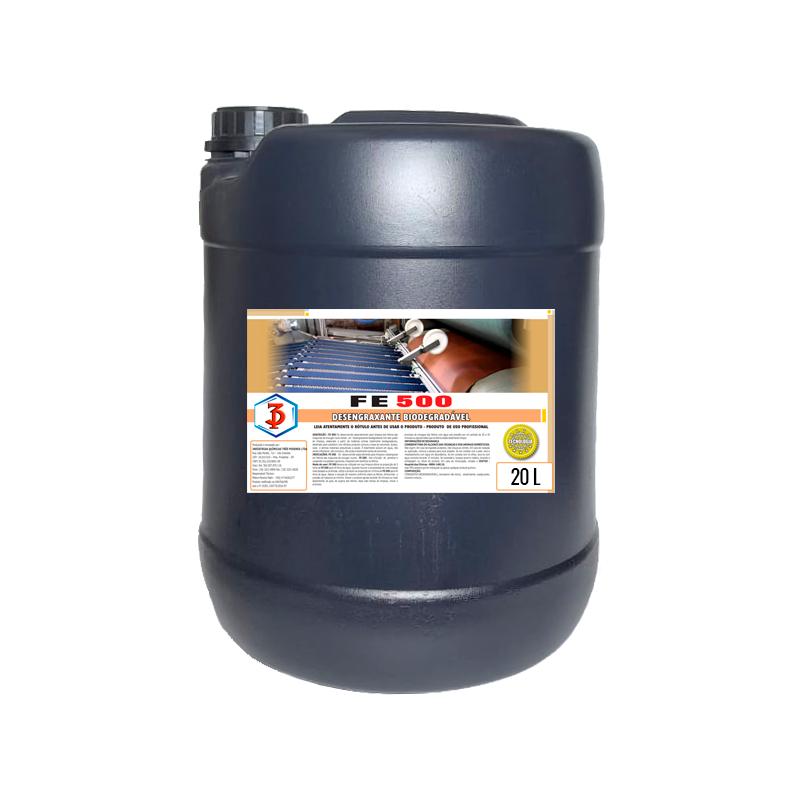 FE 500 20LTS - Desengraxante Biodegradável para feltros das máquinas de enxugar couros