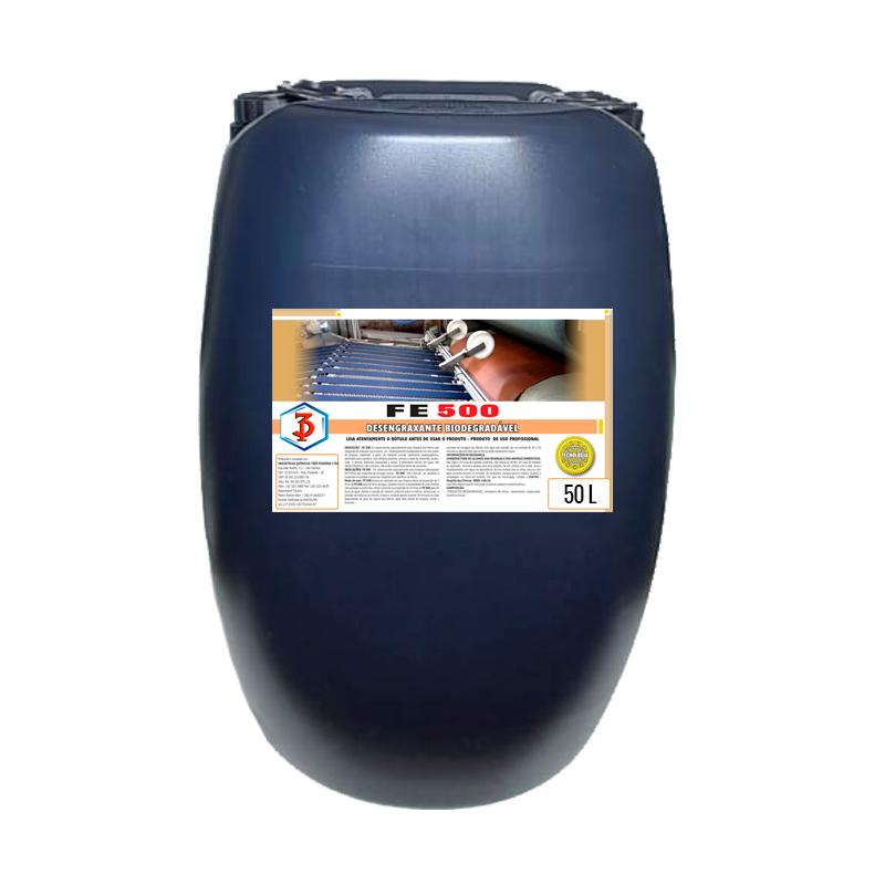 FE 500 50LTS - Desengraxante Biodegradável para feltros das máquinas de enxugar couros