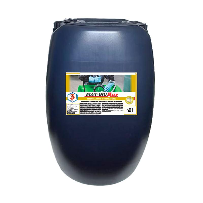 FLOT-BIO MAX 3 Poderes 50LTS - Desengraxante Biodegradável para limpeza de peças em geral
