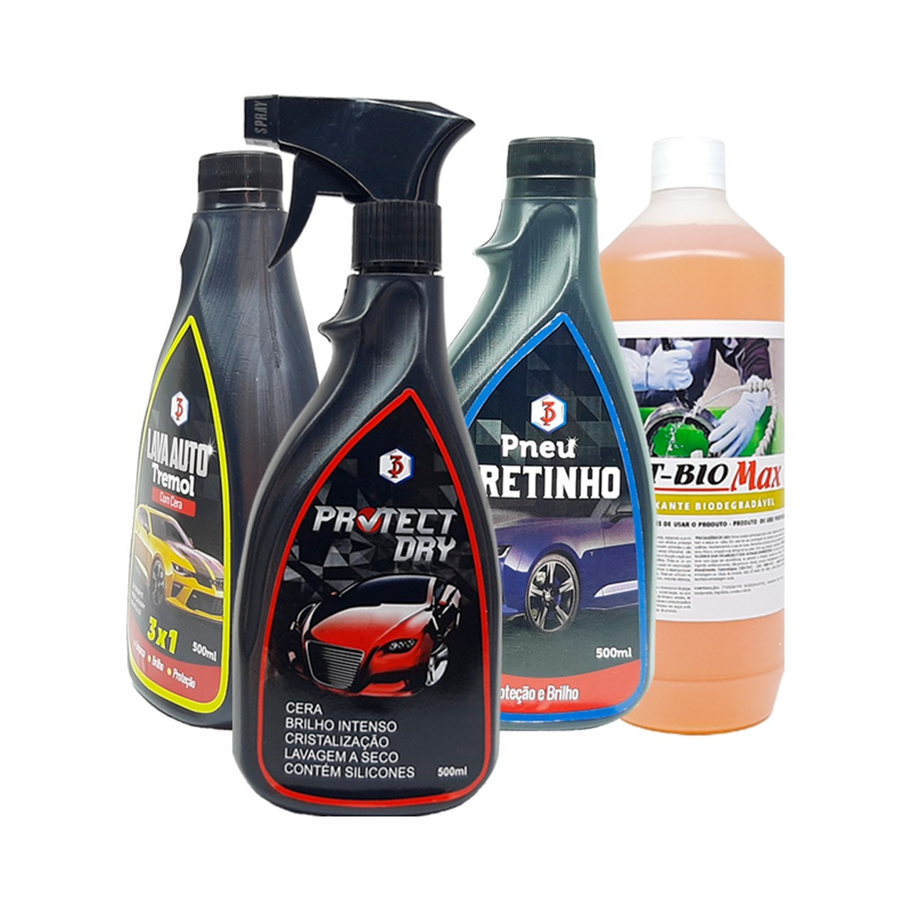 Kit 4x1 Lava Moto Completo - Cross, Trilha e Off Road
