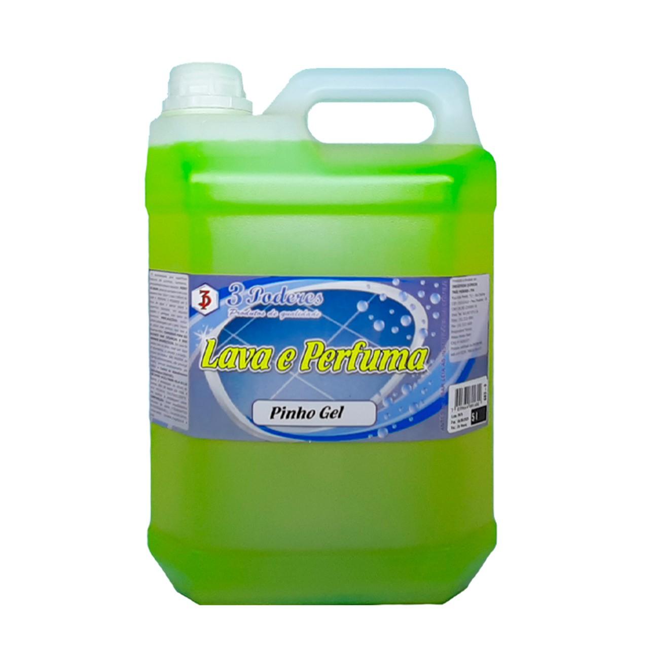 Lava e Perfuma 3 Poderes 5LTS - Pinho Gel
