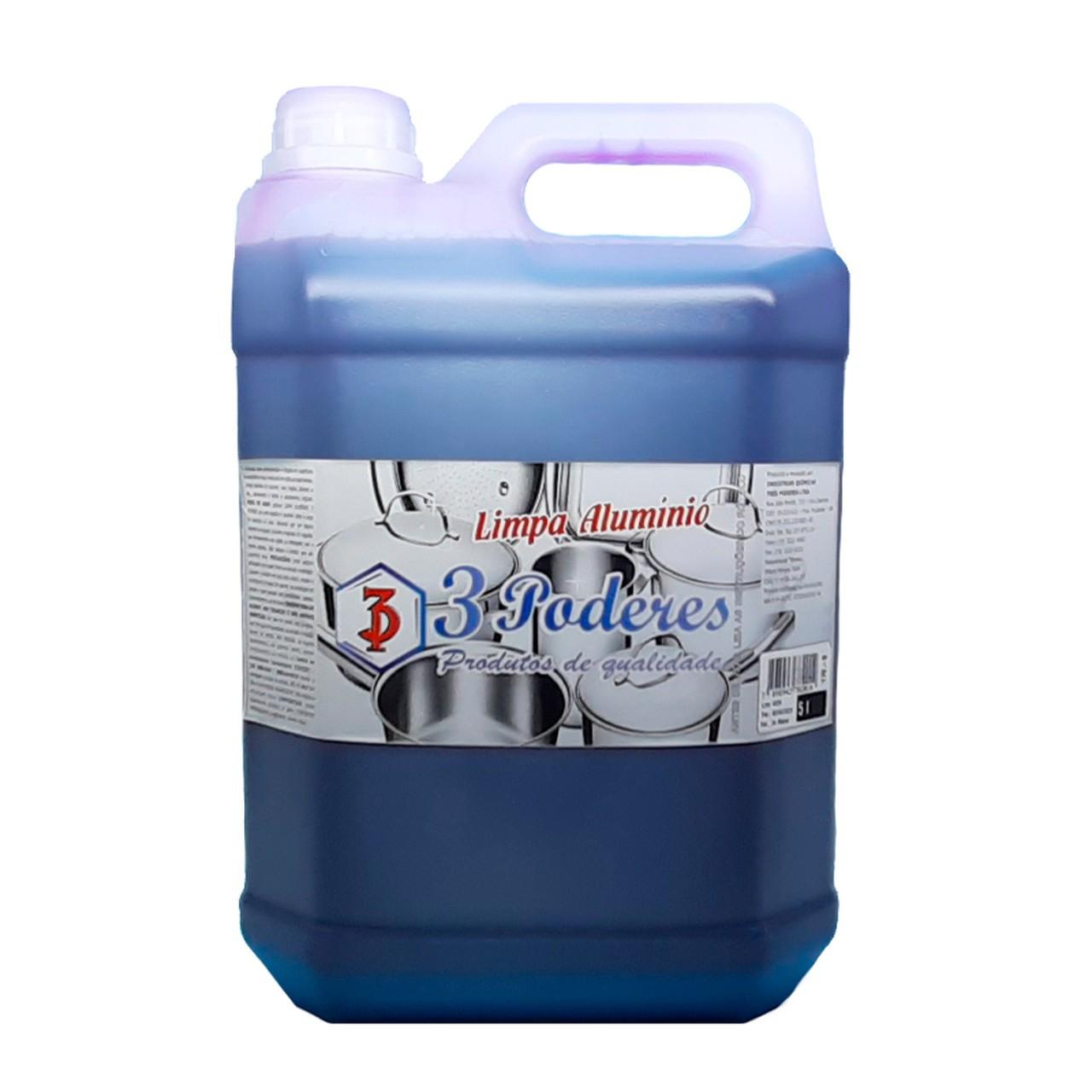Detergente Limpa Alumínio 3 Poderes 5LTS