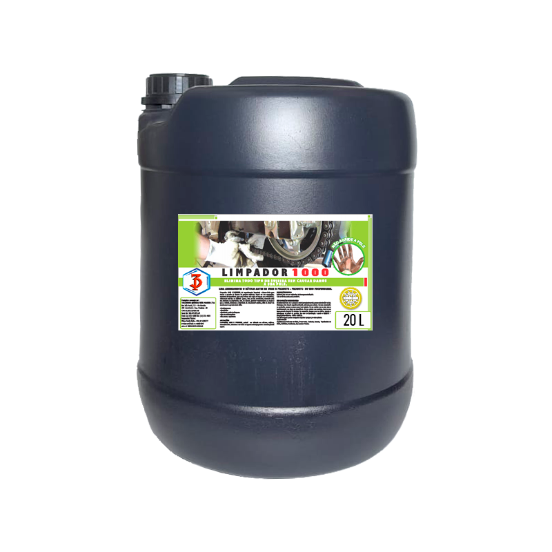 Limpador 1000 3 Poderes 20LTS - Desengraxante para as Mãos com Esfoliante Cosmético