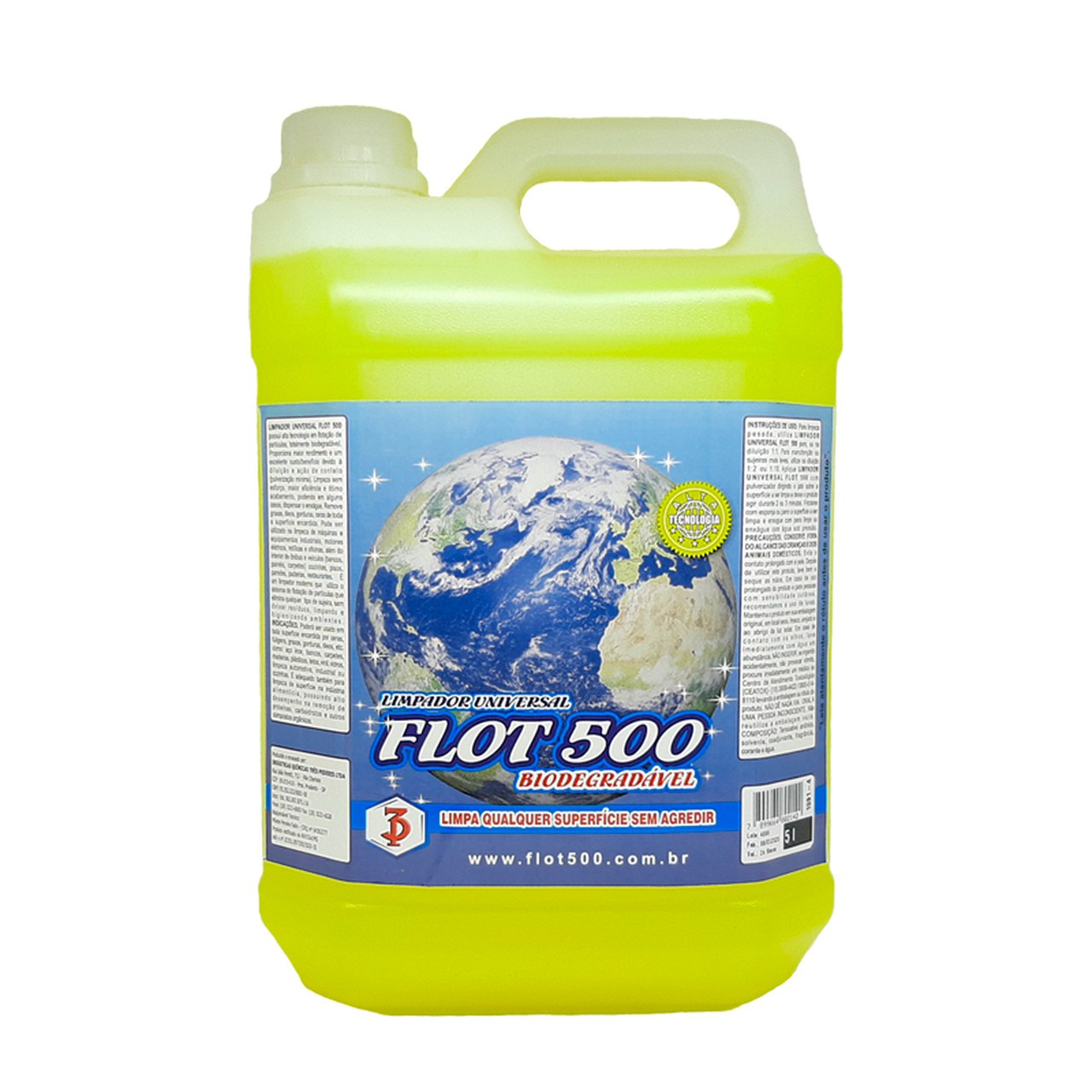 Limpador Universal Flot 500 3 Poderes 5LTS - Flotador Biodegradável