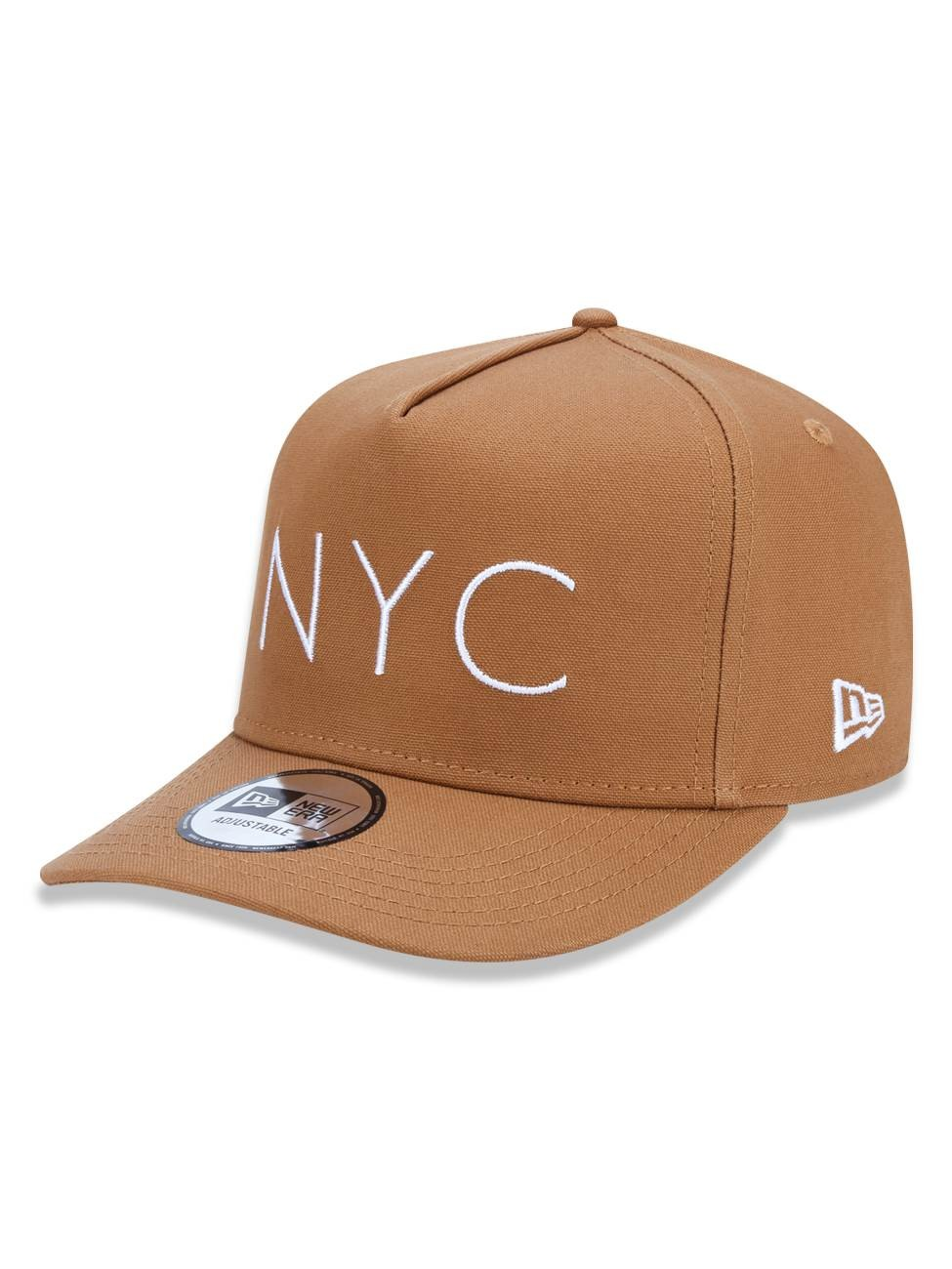 BONÉ NEW ERA NEW YORK YANKEES NYC TAN CARAMELO - NEV17BON400