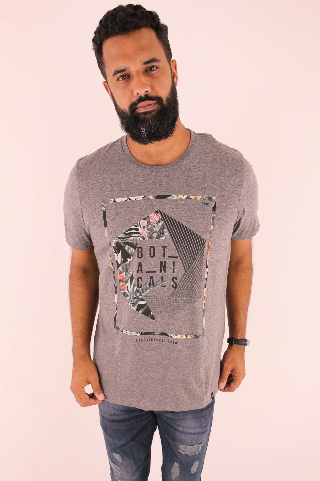CAMISETA ESTAMPADA ALL FREE BOTANICS PSYCHO