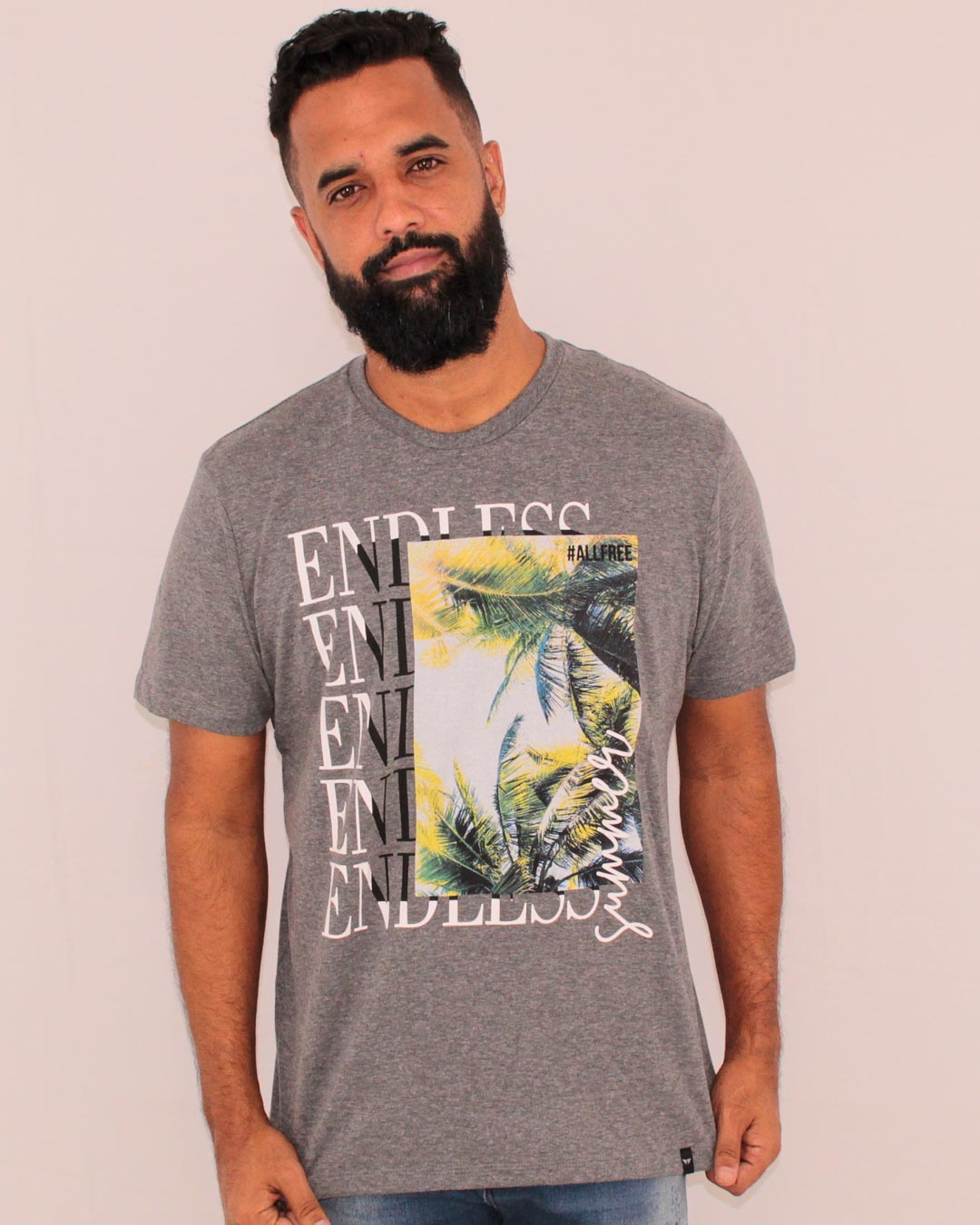 CAMISETA ESTAMPADA ALL FREE ENDELESS SUMMER