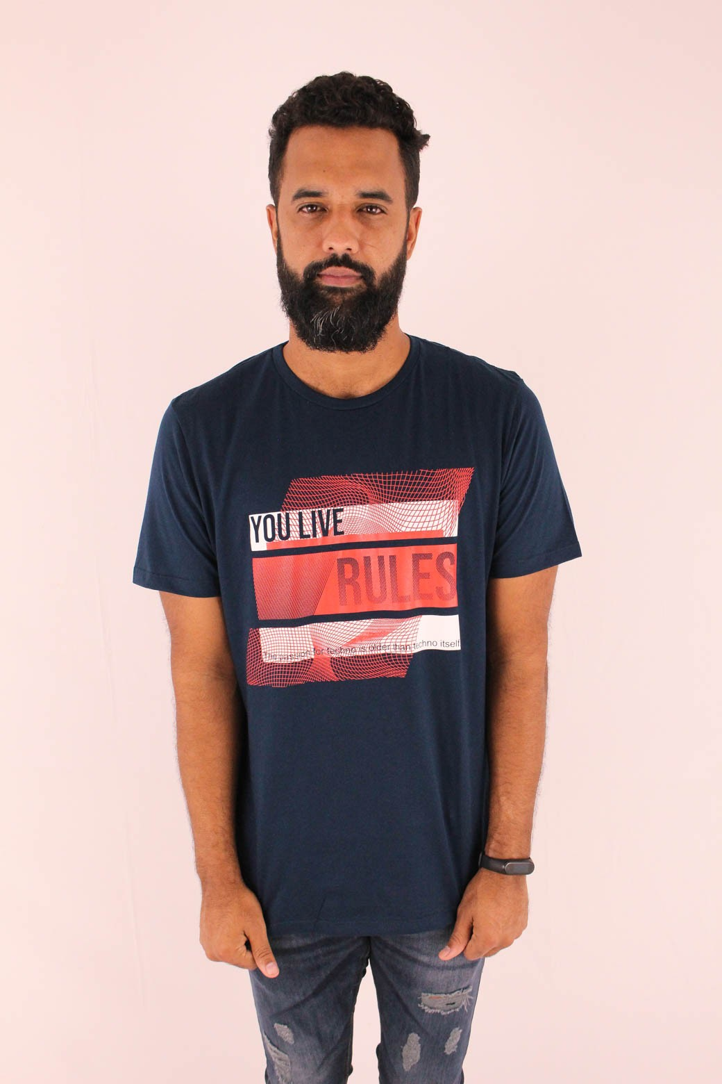 CAMISETA ESTAMPADA ALL FREE YOULIVE RULES