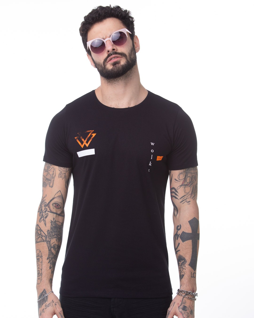 CAMISETA LONGLINE WOLKE CARECA CRASH