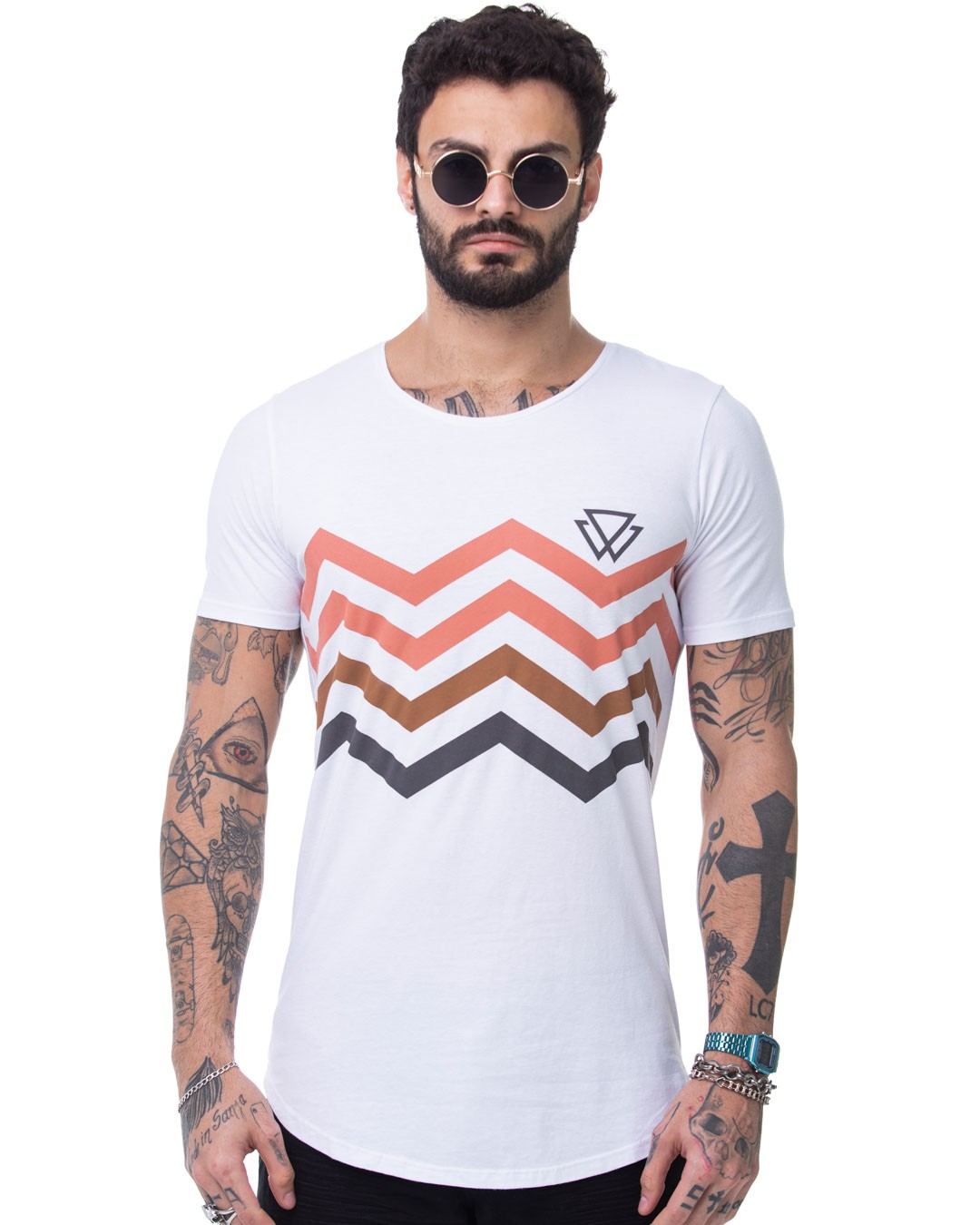 CAMISETA LONGLINE WOLKE WAVE BEAT
