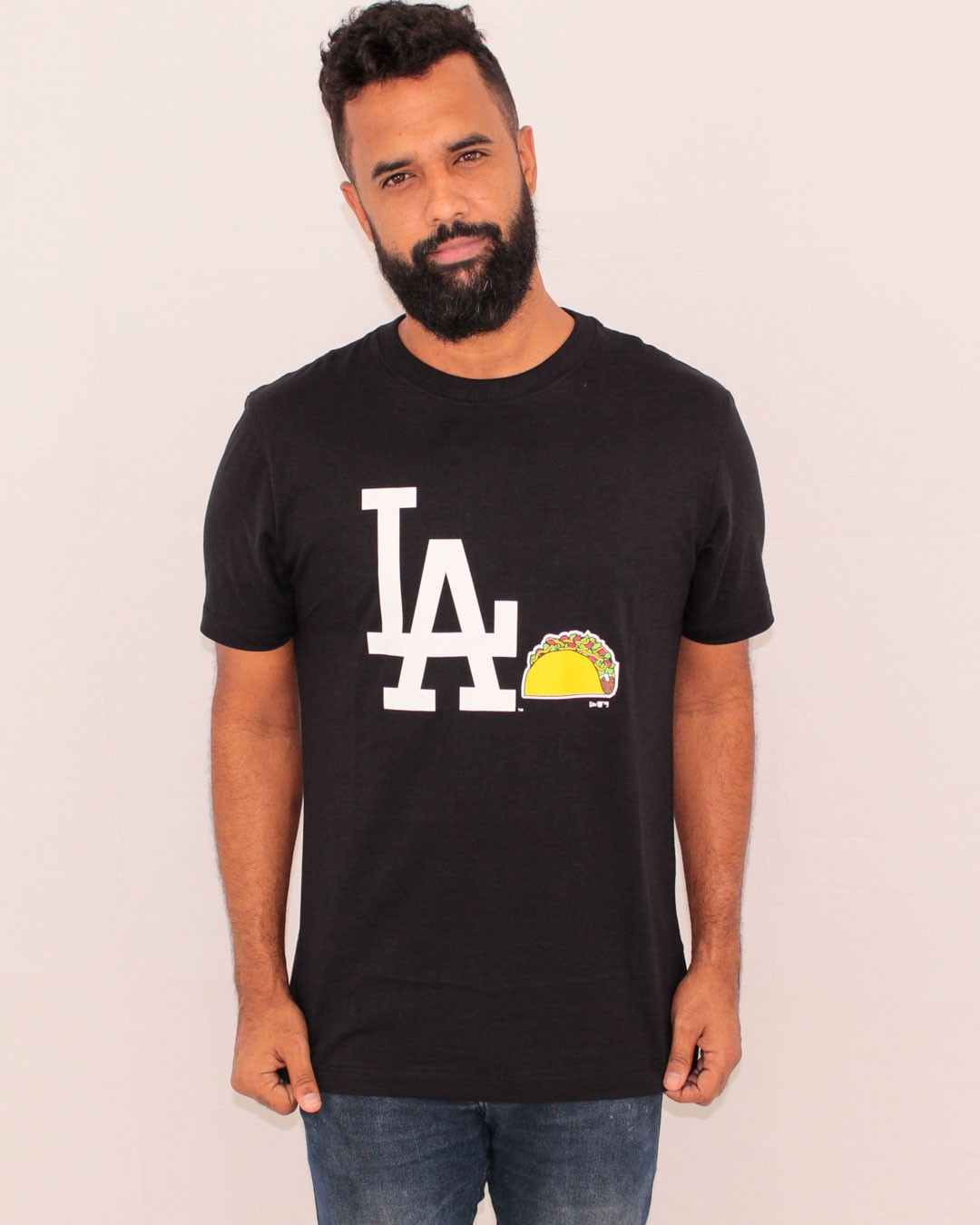 CAMISETA NEW ERA LOS ANGELES DODGERS CORE TEAM EAT
