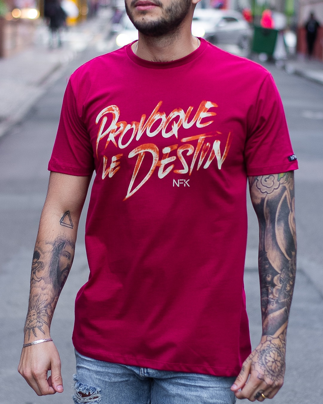 CAMISETA NOFAKE PROVOQUE BORDO