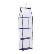 Prateleira Organizadora Clear Para Bolsas Com Divisórias 15x30x100cm Concept Paramount