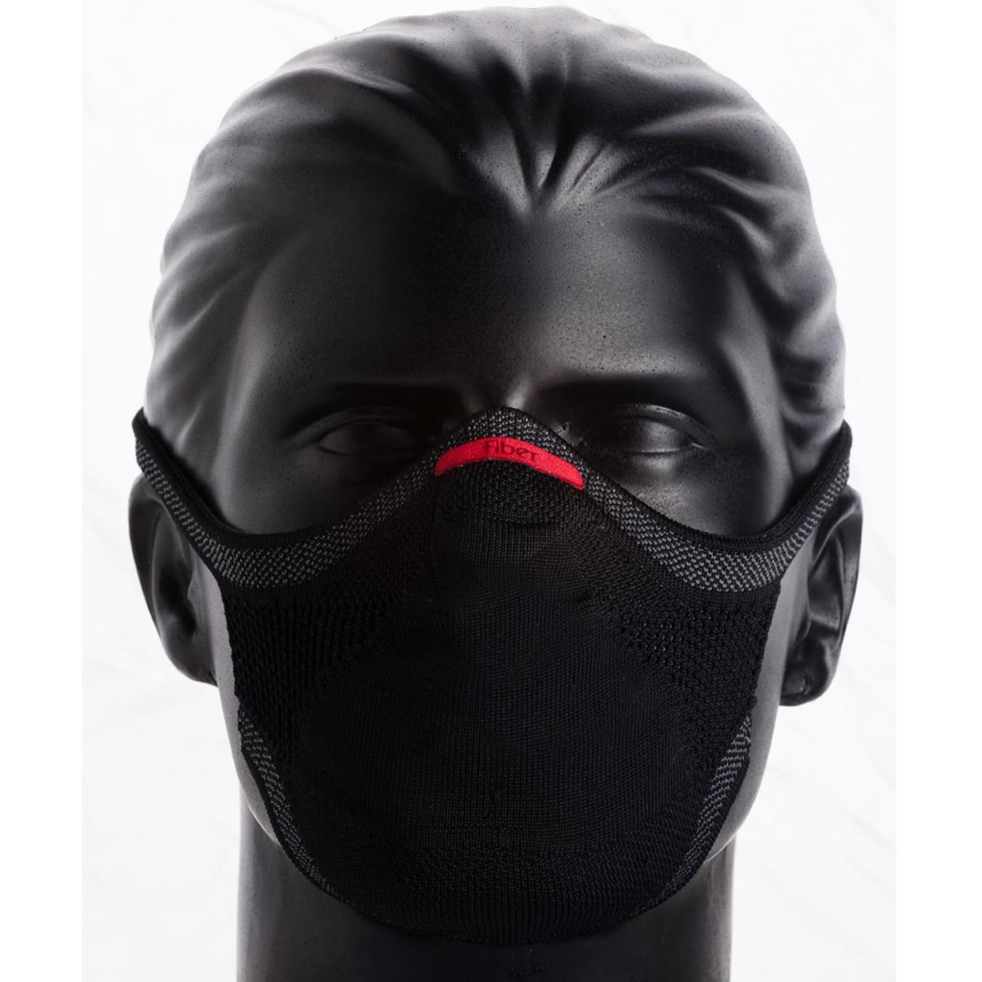 KIT 2 Máscaras Pretas + 2 Refis de Filtro + 2 Suportes