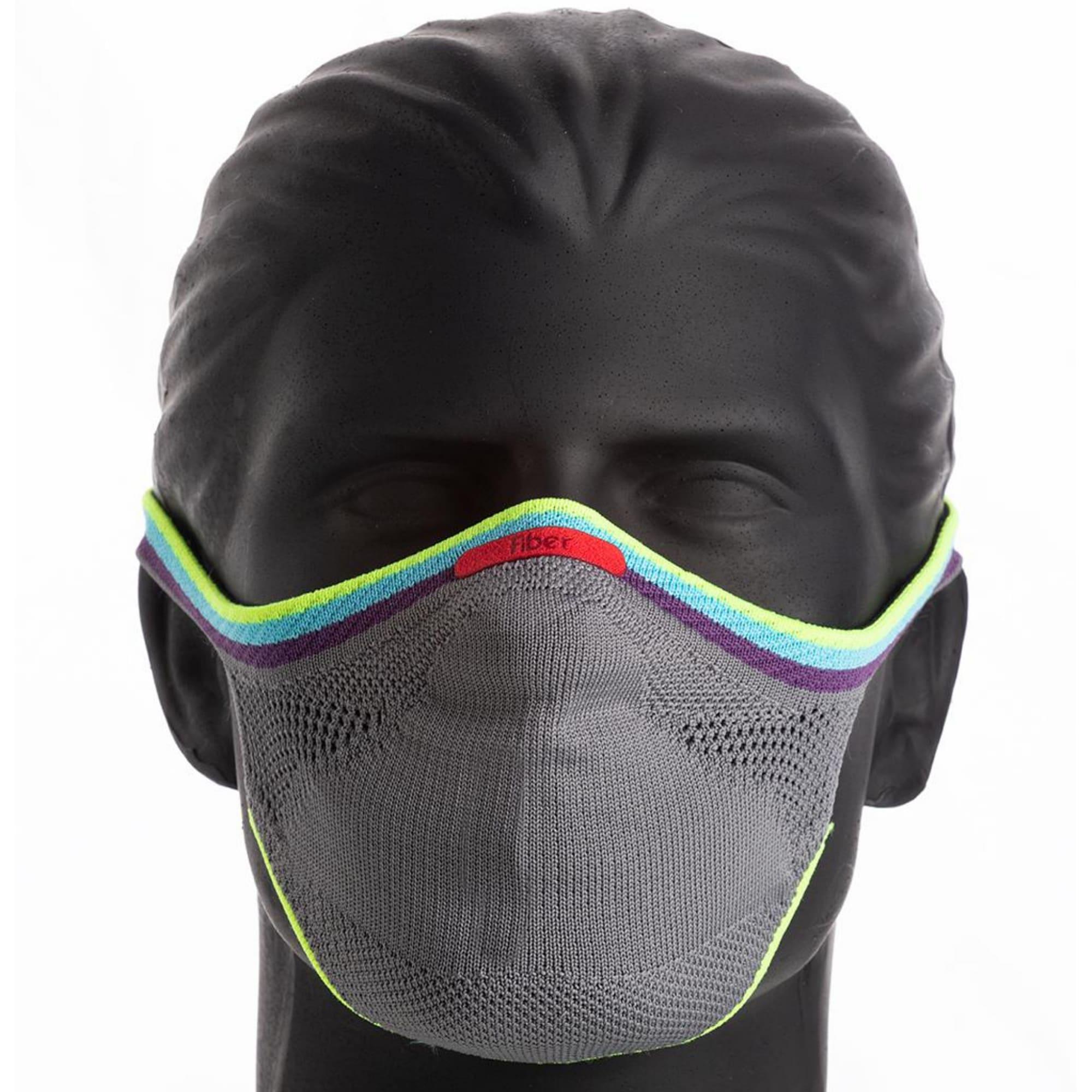 Máscara Esportiva KNIT - PRIDE CINZA