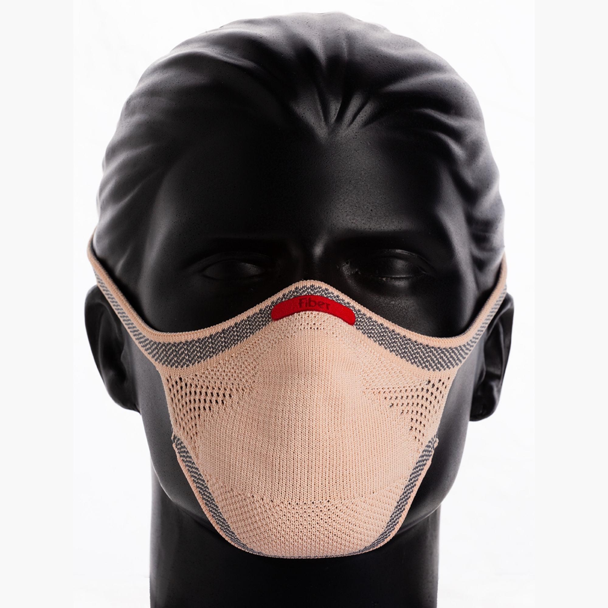Máscara Esportiva KNIT - Salmão