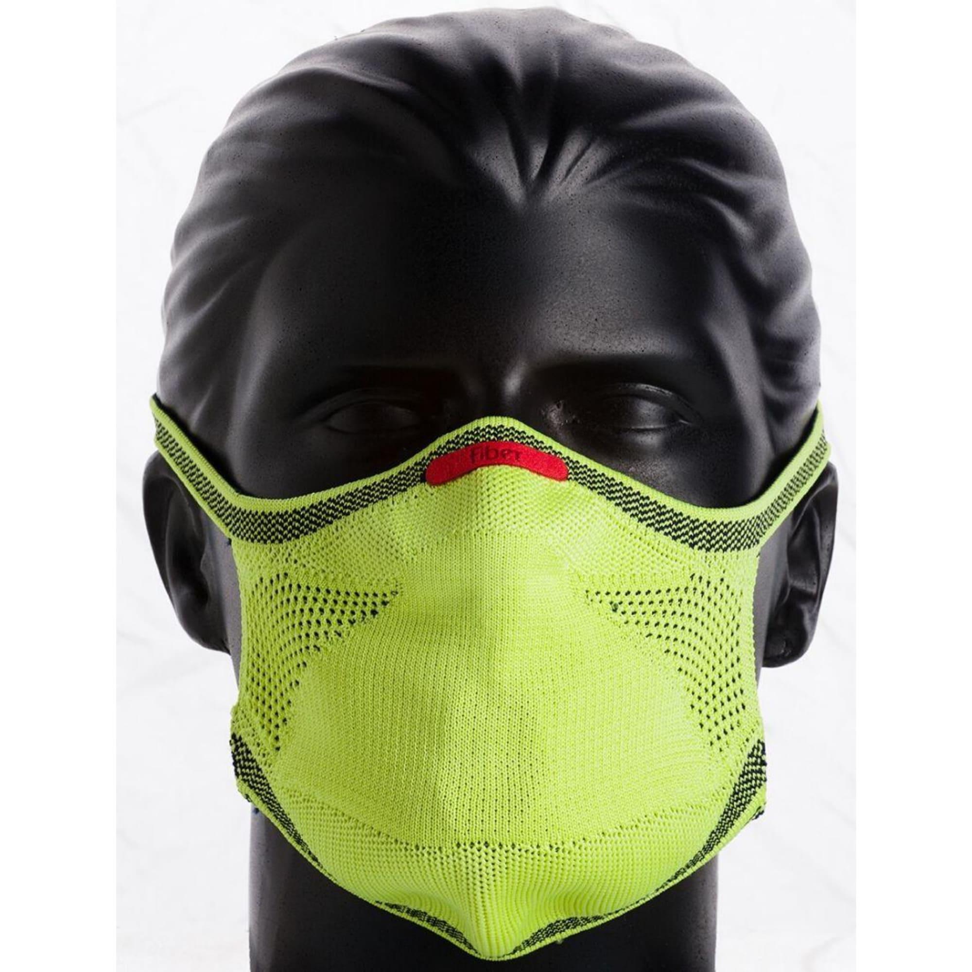 Máscara Esportiva KNIT - VERDE LIMÃO