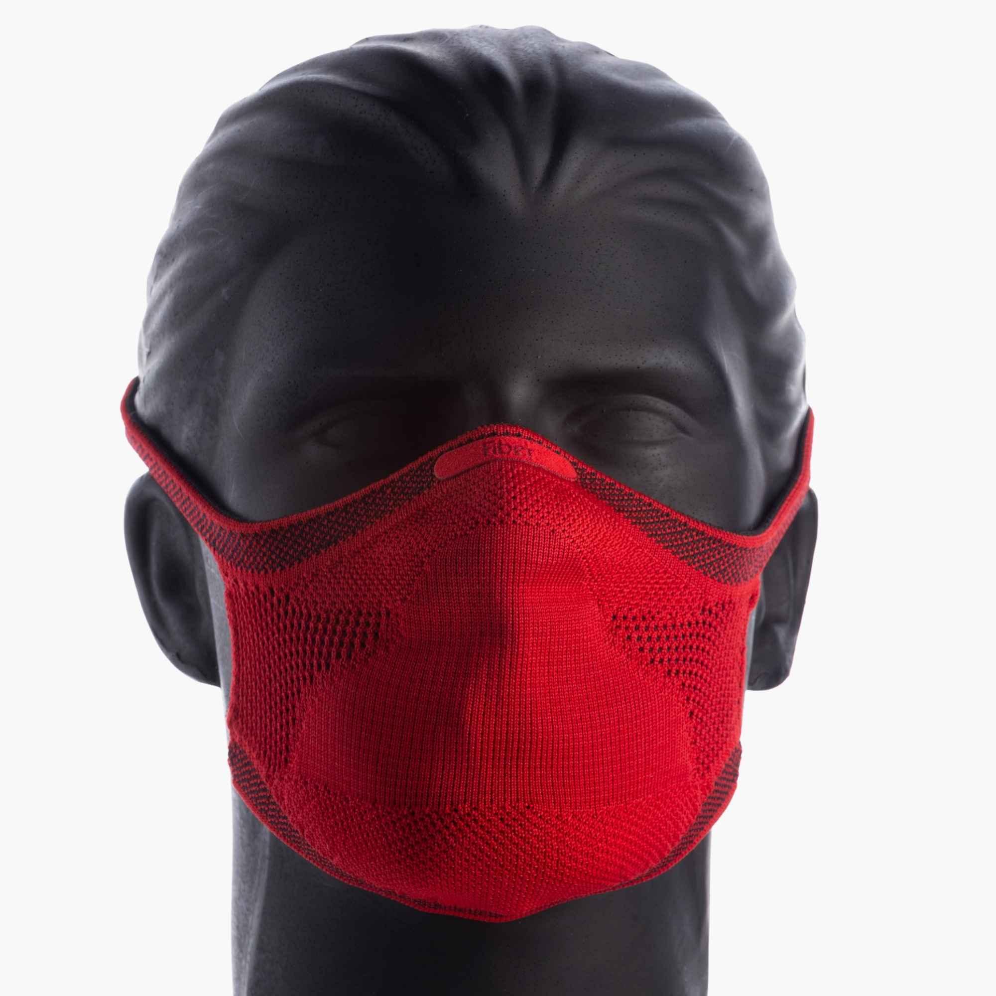 Máscara Esportiva KNIT - VERMELHO