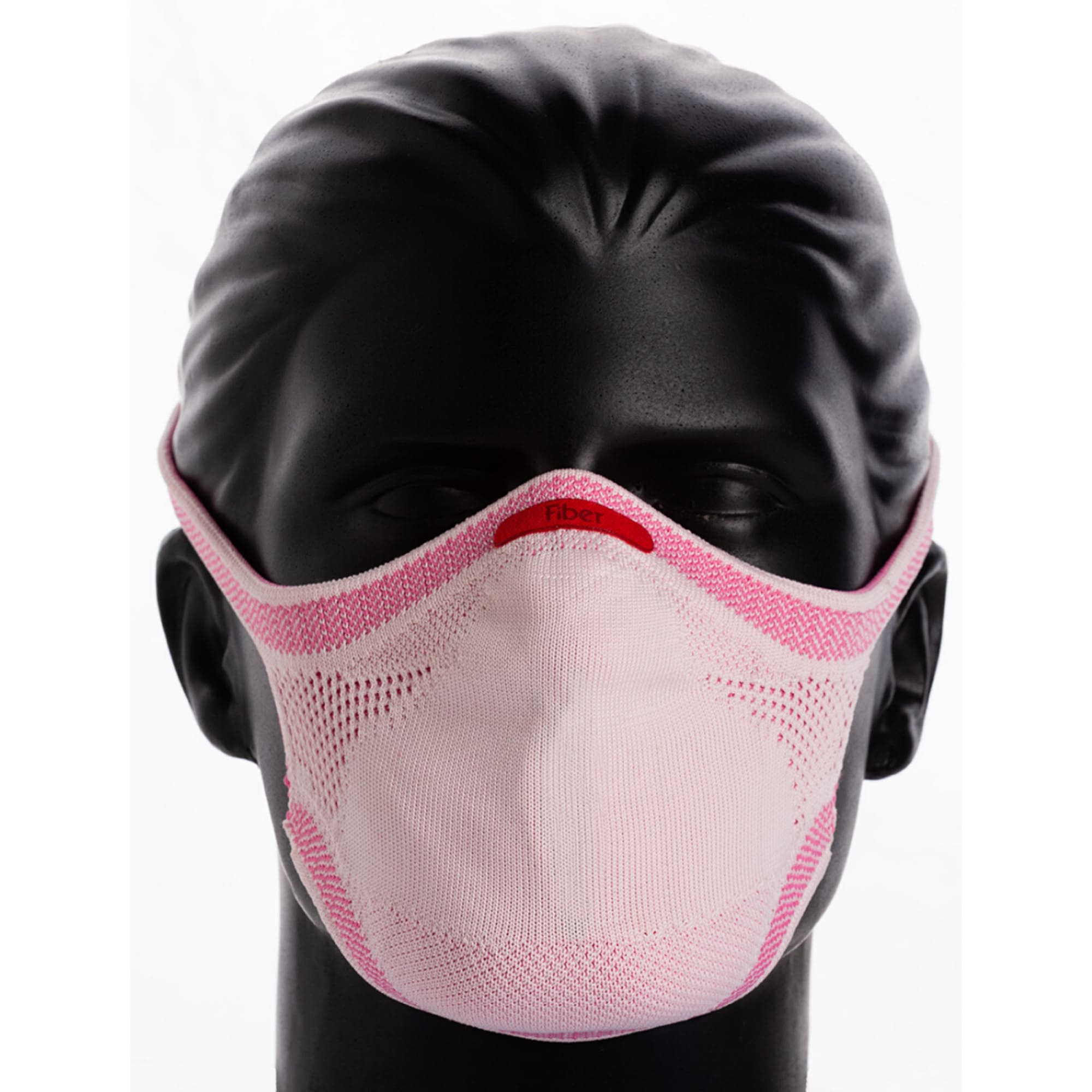 KIT Máscara Rosa + Refil de Filtro + Suporte