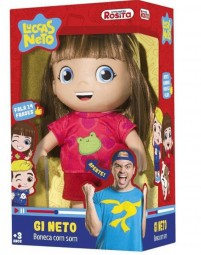 Boneca Gi Neto - Luccas Neto