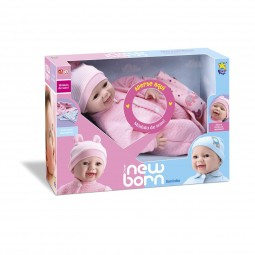 Boneca New Born Soninho - Divertoys