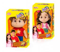 Bonecos Maria Clara & JP