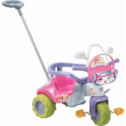 Triciclo Tico Tico Zoom Meg Com Aro - Magic Toys
