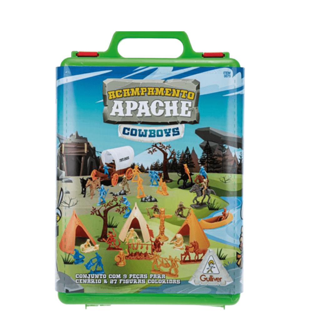 Acampamento Apache Cowboys Coloridos - Gulliver
