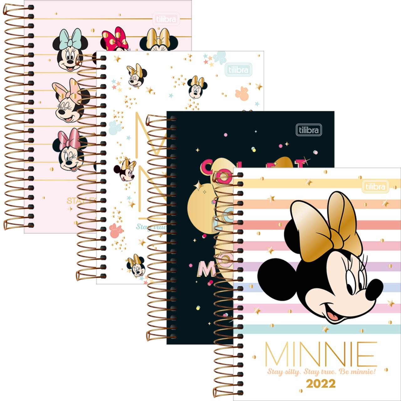 Agenda Minnie Mouse Datado 2022 para Agendamento