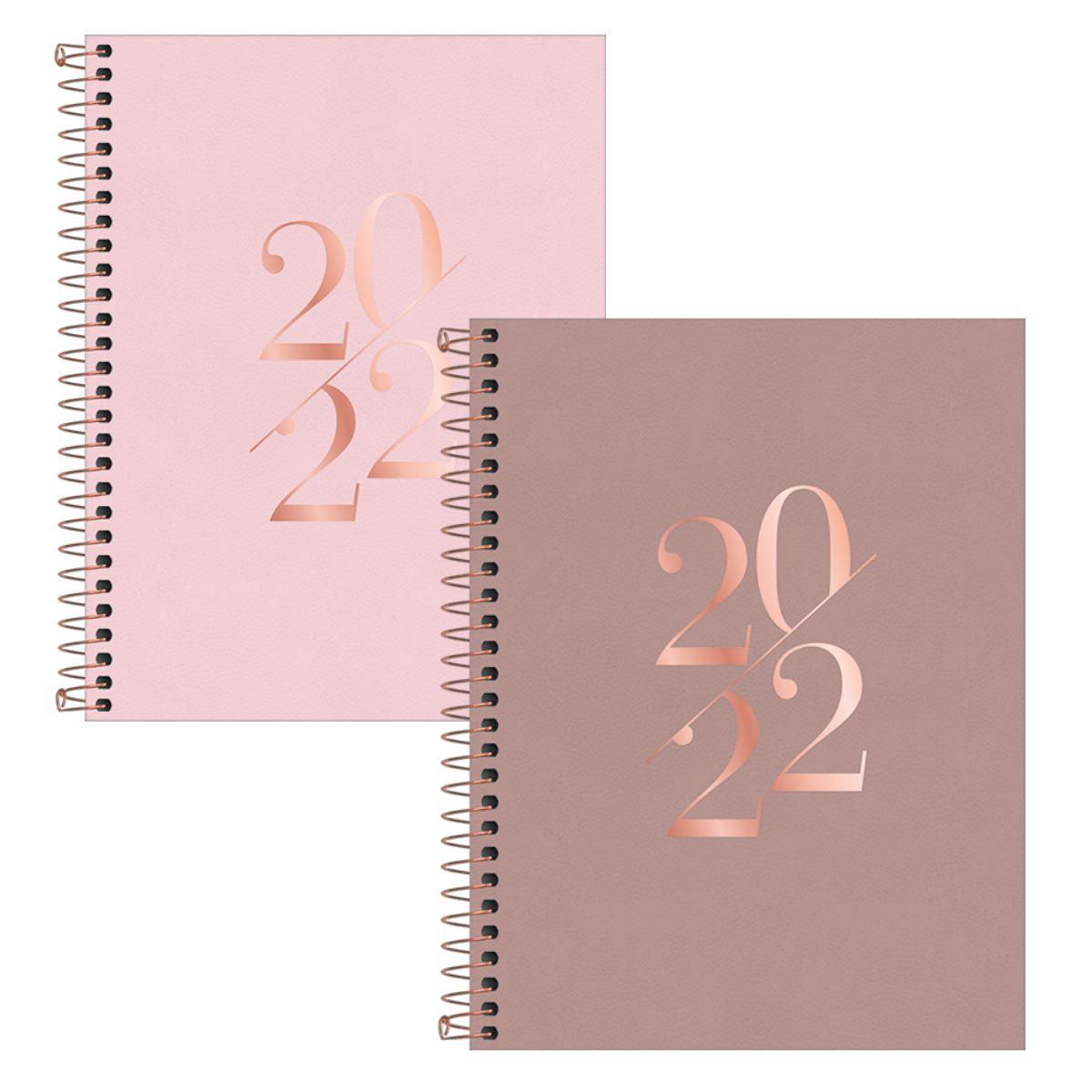 Agenda Planner 2022 Vanilla para anotações - Tilibra