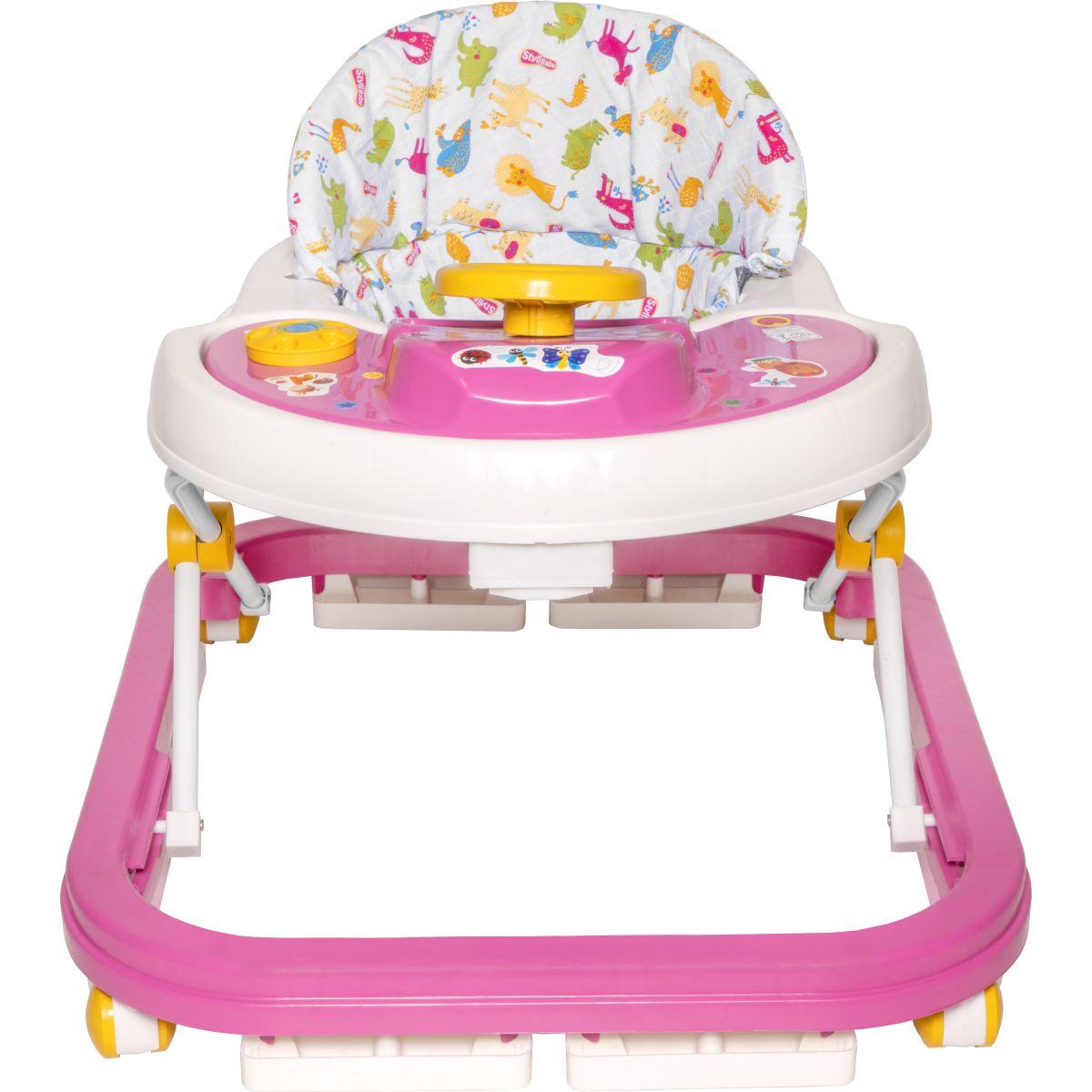Andador Infantil Styll Baby- Rosa