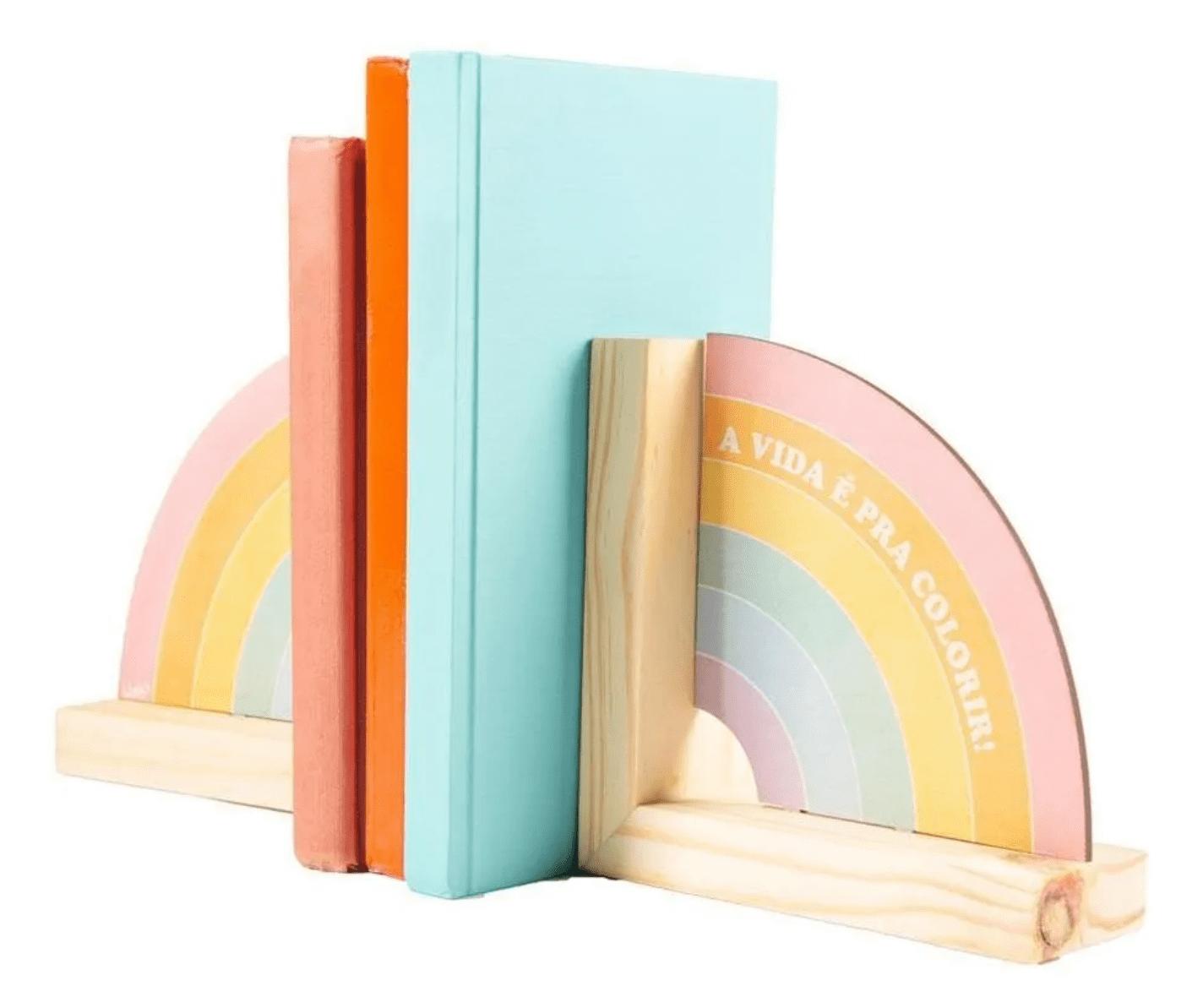 Aparador de Livros Cores - Uatt