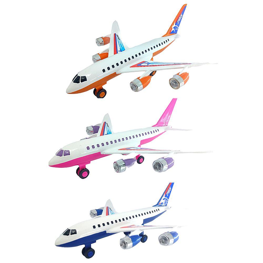 Avião de Brinquedo Aerobus C/ 3 modelos AirPlane