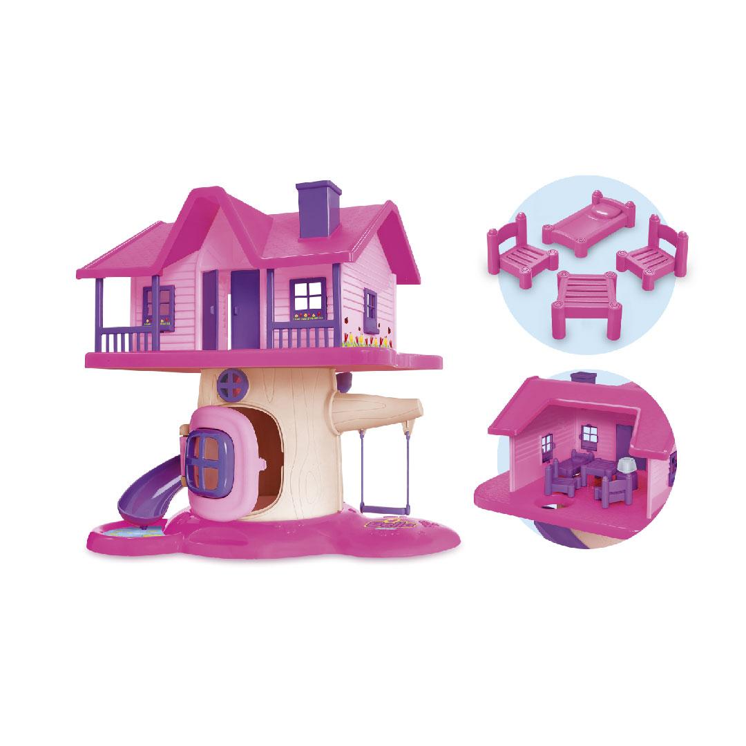 Bella Vila Casa Divertida Brinquedo Usual Infantil